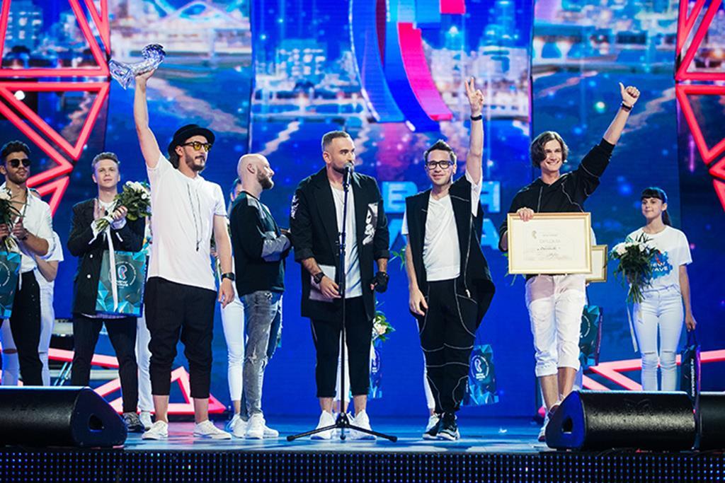 Московская группа «Давинчи» - триумфаторы международного конкурса «Новая волна 2019»